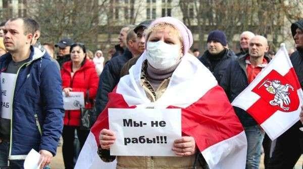 Белоруссия: оппозиция финансируемая с Запада раскачивает «майдан»