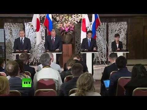 Япония: пресс-конференция министров Лаврова и Шойгу с коллегами