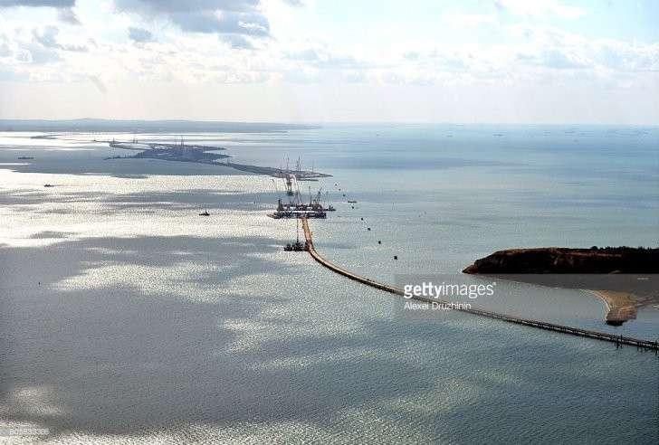 Крымский мост глазами Запада