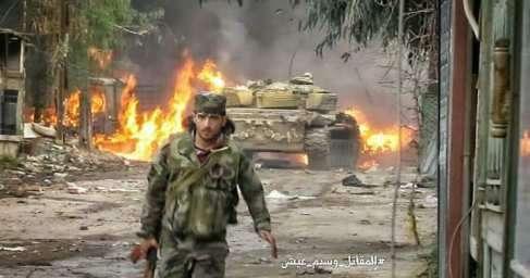 Дамаск: армии Сирии в тяжёлом бою потеряла 70 солдат, убито 100 боевиков