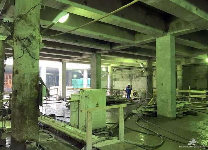 Фоторепортаж строительства Петербургского метрополитена