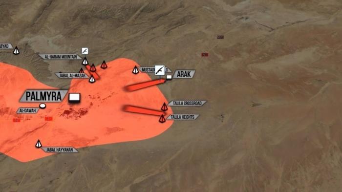 Сирия: Русский Легион наступает под Пальмирой. Агонизирует Восточная Гутта