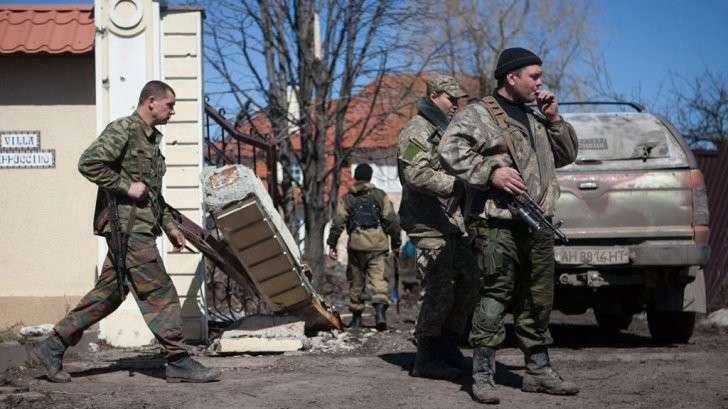 В Донбассе обнаружили иностранных диверсантов на стороне украинских карателей