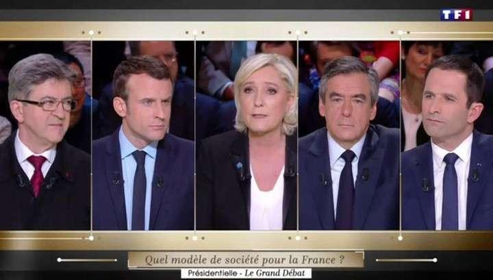 Выборы во Франции: дебаты по телевизору идут на фоне миграционного кризиса