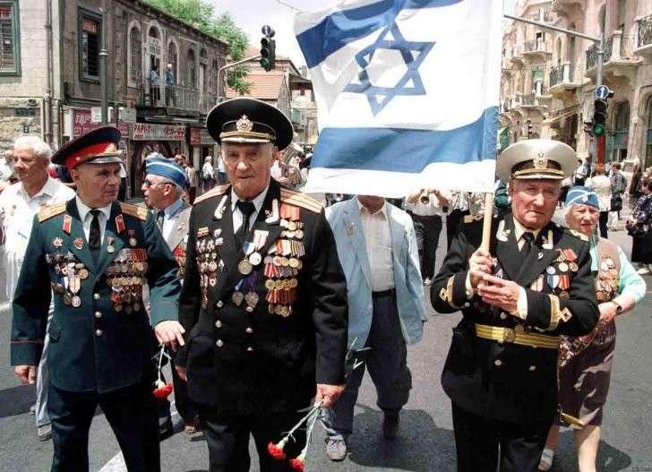 Израиль примазывается к Победе русского народа над мировым фашизмом (18+)