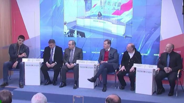 Телемост Москва – Симферополь по итогам визита европейских депутатов в Крым