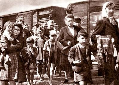 Это вам не добренький Сталин, это депортация по-европейски