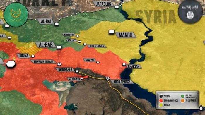 Сирия: русская база в Алеппо. Дейр Хафер будет отрезан