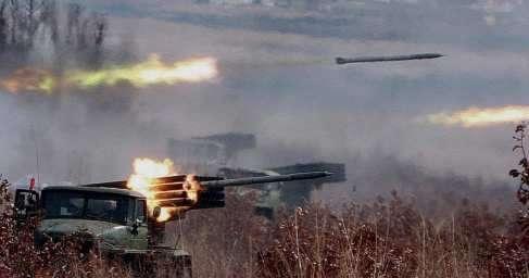 Сирия: 130 ракет по штабу американских наёмников. Огненный АД