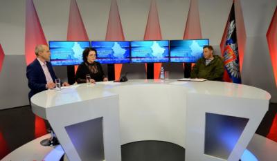 Прямая линия Александра Захарченко с жителями временно оккупированной Украиной территории