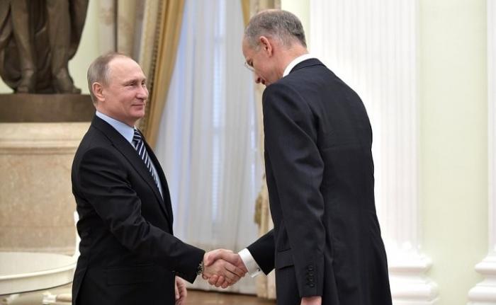 Владимир Путин встретился спредседателем правления концерна BASF Куртом Боком