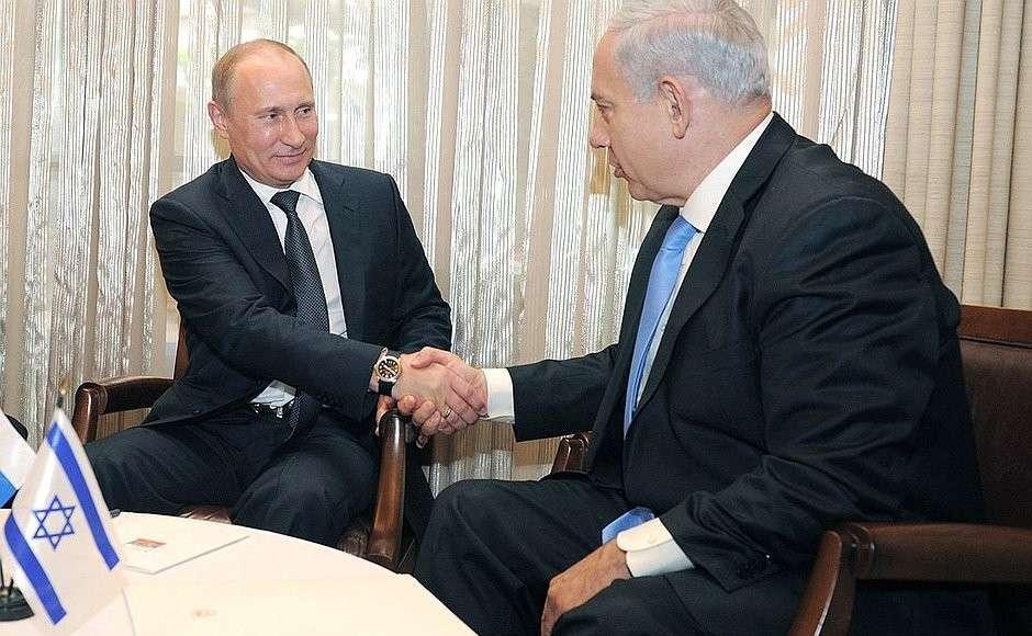 Арабо-еврейское НАТО: израильские сионисты в бешенстве оттого, что Владимир Путин поддержал Иран