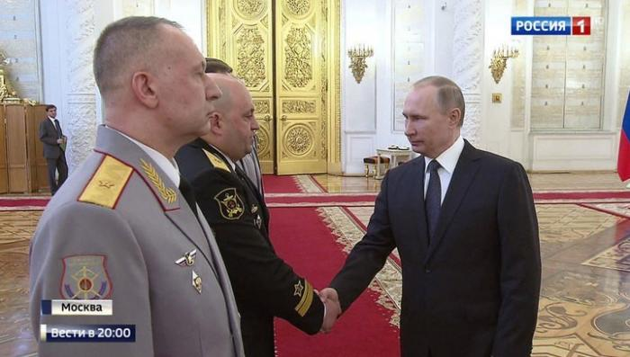 Владимир Путин: Русская армия способна отразить любую агрессию