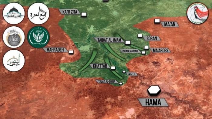 Сирия: в Хаме правительственная армия стремительно теряет позиции