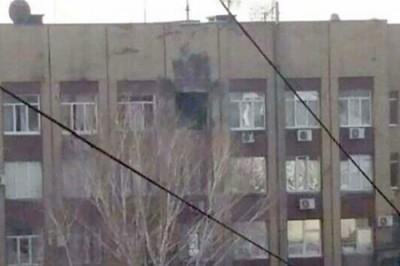 ДНР: в Донецке атакован Штаб корпуса Народной милиции