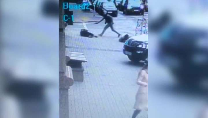 Видео убийства Дениса Вороненкова в Киеве попало в Интернет