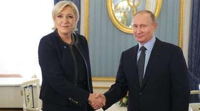 Марин Ле Пен дала интервью каналу RT: «Я борюсь против всей этой системы»