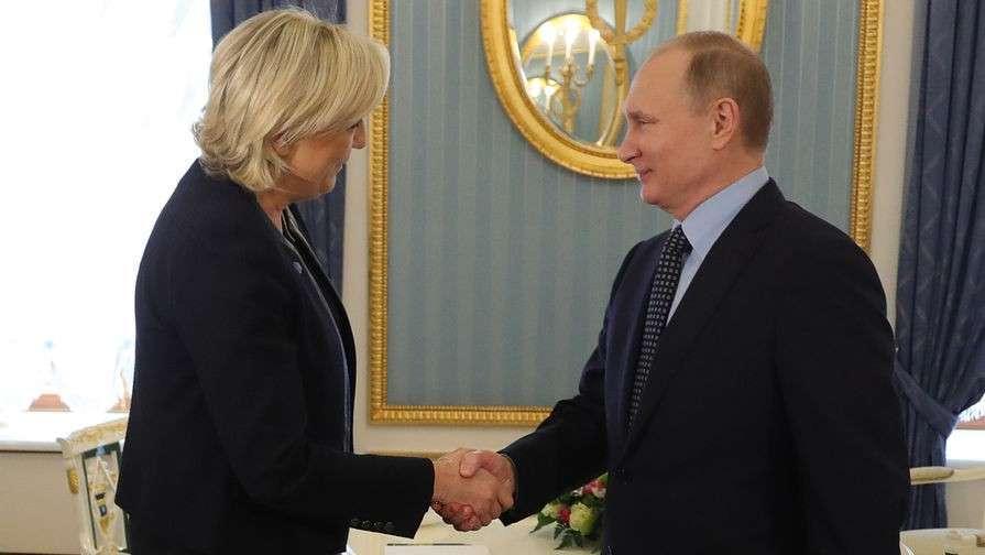 Один только факт встречи Марин Ле Пен с Владимиром Путиным уже может подарить ей победу на выборах