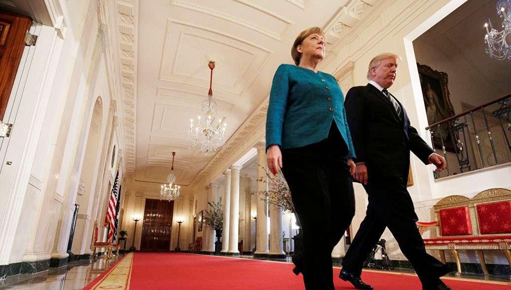 Дональд Трамп выставил Ангеле Меркель счет на 375 миллиардов долларов