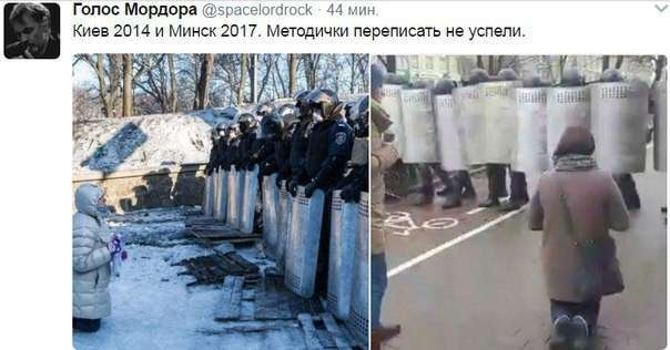 Протесты в Минске под копирку госдепа. Детальный разбор полётов