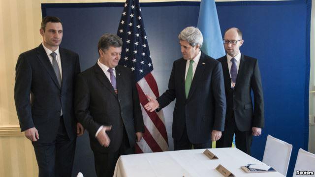 Мюнхенский сговор... Государственный секретарь США договорился с оппозицией о смене власти на Украине