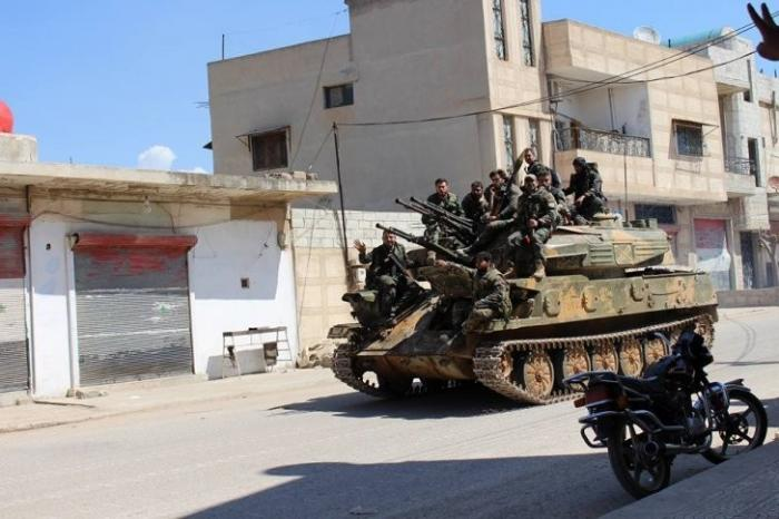 Сирия: Хама, правительственная армия стабилизировала фронт