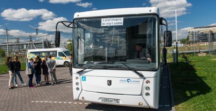 Электробус КАМАЗ – транспорт нового поколения заряжается за 6 минут