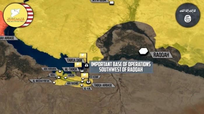Сирия: Курды заняли авиабазу Табка возле Ракки