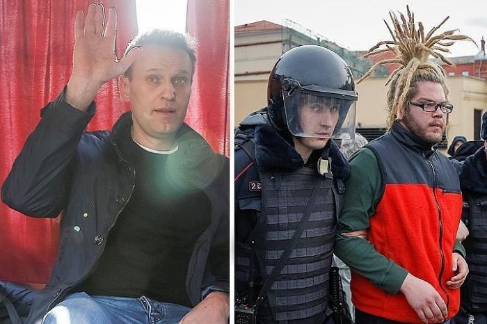 Митинг Навального: глупый подросток «купился» на 10 тысяч евро и защиту РБК