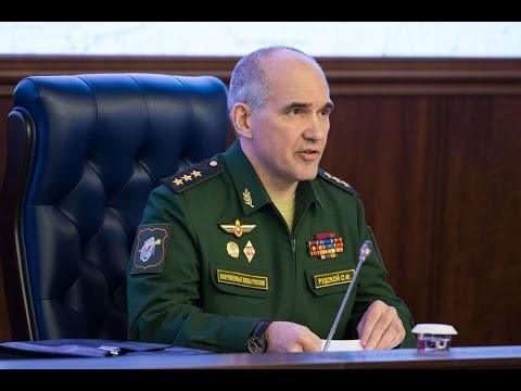 Сирия: Брифинг генерал-полковника Сергея Рудского