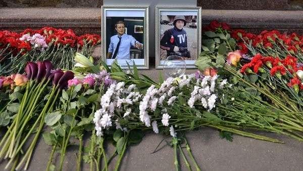 Журналисты были ранены, закрывая от обстрела женщин и детей