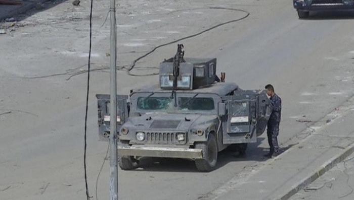 Американские наёмники из ИГИЛ силой загоняют в Мосул мирных жителей