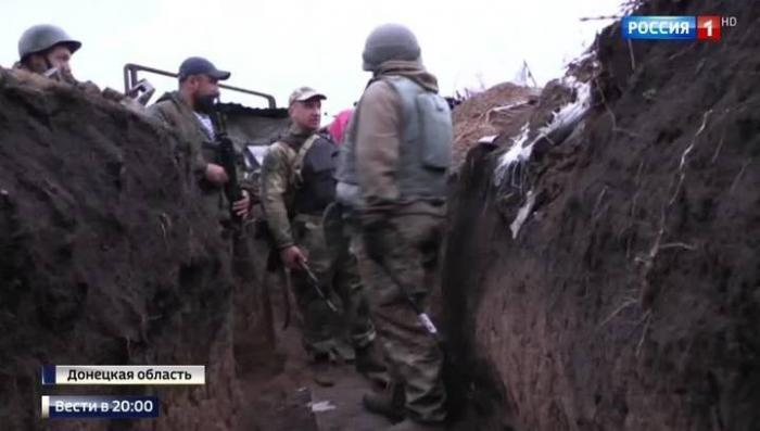 Репортаж с передовой ДНР: 500 украинских мин и снарядов за сутки