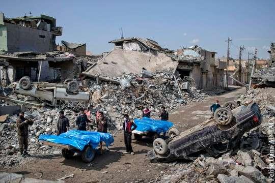Мосул: армия Ирака несёт чудовищные потери и прекращает наступление