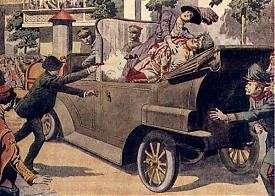 выстрел в Сараево, Гаврило Принцип, эрцгерцог Франц Фердинанд, Первая мировая война|Фото: reibert.info