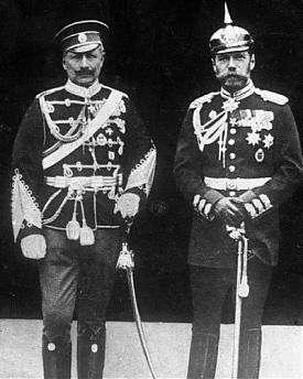 Вильгельм II, Николай II|Фото: samisdat.com