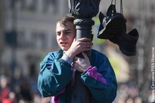 Протесты Нвального: школьники не при чём, причина в либералах. Серьёзно