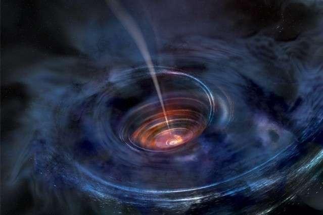 Чёрная дыра подавилась звездой, – фантазируют «учёные»