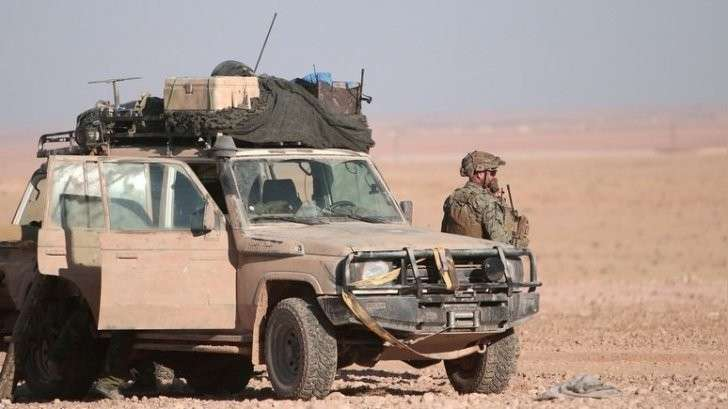 Русские и американские солдаты сражаются в Сирии «на расстоянии броска гранаты»