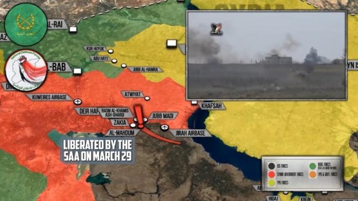 Сирия: правительственная армия наступает на юго-запад