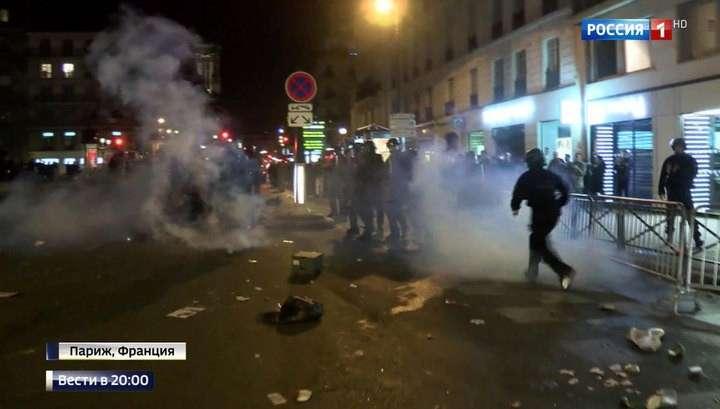 В Париже за 3 недели до выборов активно разжигают новые беспорядки
