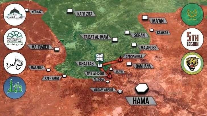Сирия: бои под Пальмирой, Хамой. Курды окружают Ракку