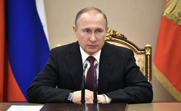 Владимир Путин провёл совещание спостоянными членами СБ