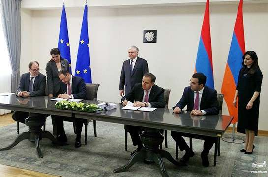 Армения подписывает новый документ с ЕС, регулирующий отношения республики с Европейским союзом