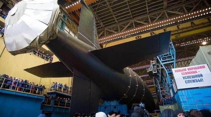 В Северодвинске спущена на воду атомная подлодка «Казань» проекта «Ясень-М»