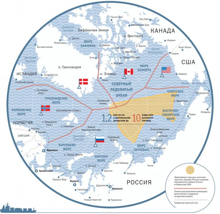 Что такое Арктическая зона и чем она ценна для России