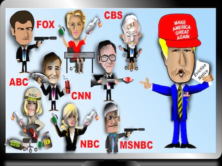 Корпоративные СМИ – злостные враги американского народа