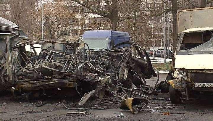 В Москве взорвалась