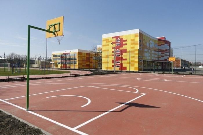 В Краснодаре недавно открылась новая начальная школа на 400 мест