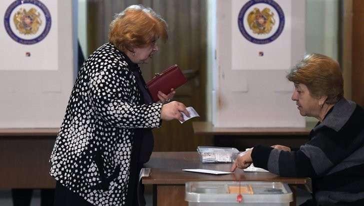 Армения: правящая РПА лидирует на выборах